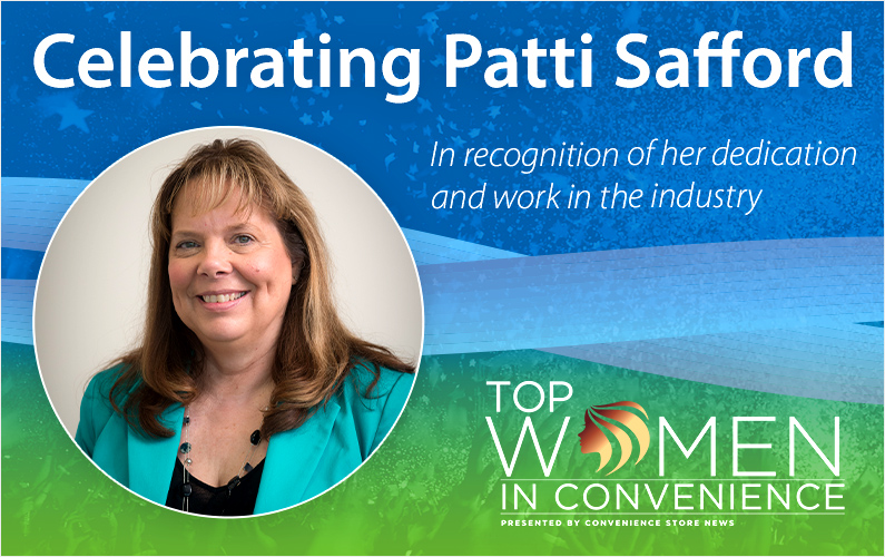 Patti Safford Awarded as One of the Top Women in Convenience