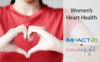 Impact 21's Patti Safford Honored by Network of Executive Women Heart Health Session