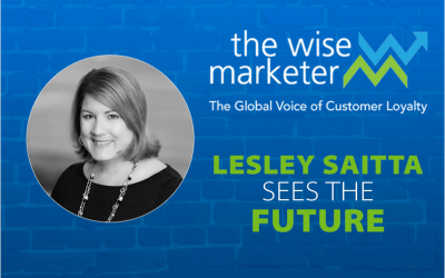 Lesley Saitta sees the future