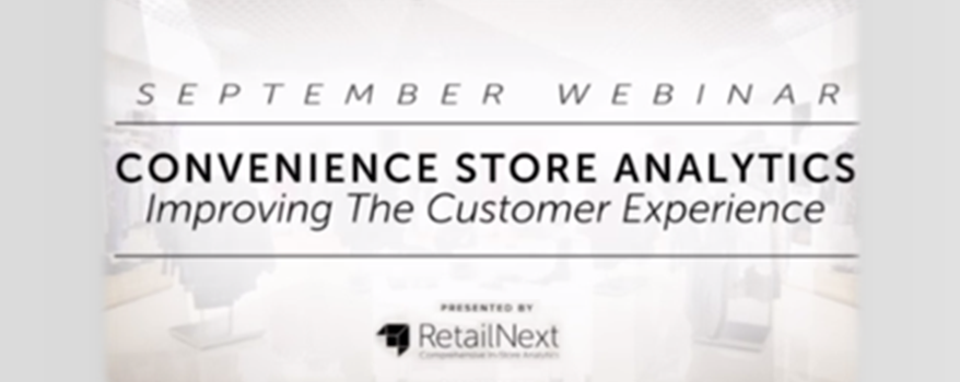 [Webinar Link] C-Store Analytics: Improving the Customer Experience
